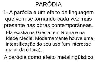 Paródia slides.ppt