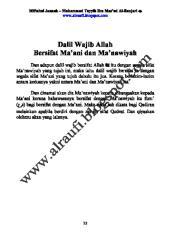 06 dalil wajib allah bersifat ma'ani dan ma'nawiyah.pdf