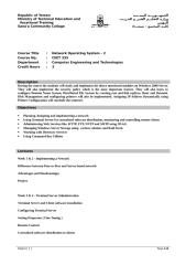 Network Operating System –II.doc