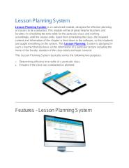 Lesson Planning System.pdf