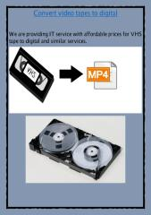 VHS to DVD Brisbane.pdf