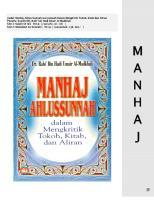 Manhaj Ahlus Sunnah dalam Mengkritik Tokoh, Kitab, dan Aliran.pdf