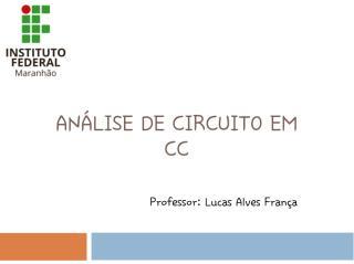 Análise de Circuito em CC - Cópia.pdf