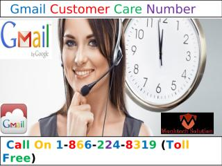 Brisk help for Gmail @ 1-866-224-8319 Gmail Customer Care Number.pptx
