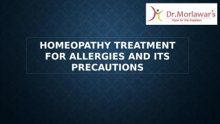 Homeopathy Treatment for Allergies and its Precautions.pptx