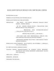HASIL RAPAT DENGAN DEWAN GURU SMP NEGERI 2 DEPOK.docx