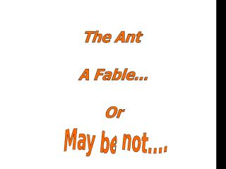 The Ant.pps