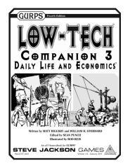 GURPS 4th - Low Tech Companion 3 - Daily Life And Economics.pdf
