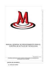 MP-GIT-06 Manual de Procedimientos para el control de activos de tecnología.docx